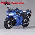 Kawasaki Ninja ZX-6R Maisto 1:12 Масштаб литья под давлением металл гоночных автомобилей мотоцикл модели автомобиля коллекция мальчиков игрушки для детей