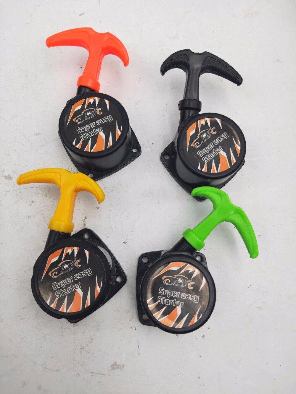 Alloy Pull Starter Handle Orange Fits Baja Buggy 1//5th RC Baja 001 5B 5T T1000