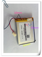 5 X Pcs 3 7V 1800mAh 103450 Lithium Polymer Li Po Rechargeable Battery For GPS PSP