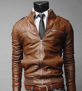 Rusanranz Motorcycle Wear Men  Motorcycle Jacket Winter Motorbike Clothing Protector  Moto  PU Leather Motor Jacket