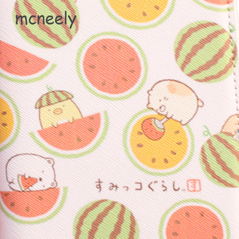 Pig and Watermelon Passport Cover Travel Wallet Women for Credit Card Checkbook id Holder Ticket Clip Purse Passport Holder 1pc