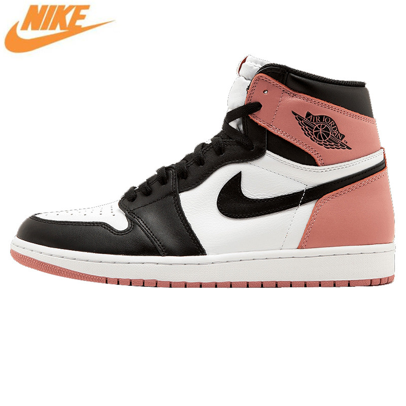 Nike Air Jordan 1 Retro High OG NRG AJ1 Men's Basketball Shoes, Original Outdoor Shock-absorbing Sneakers Sport Shoes 861428 101 nike nike air jordan 1 mid original girl kids basketball shoes children causal skateboarding sneakers
