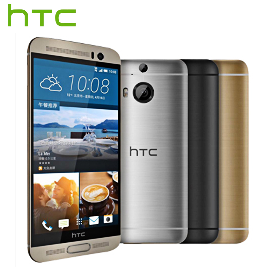 Original HTC One M9 Plus M9pw 4G LTE Mobile Phone Octa Core 3GB RAM 32GB ROM 5.2 inch 2560x1440 Dual Camera Smart Phone