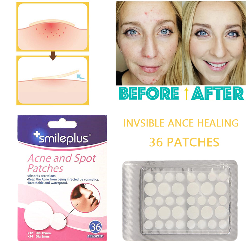 Hydrocolloid Acne Pimple Master Patch 36 Counut Face Spot Fast Healing Sticker Plaster Blemish Acne Remover