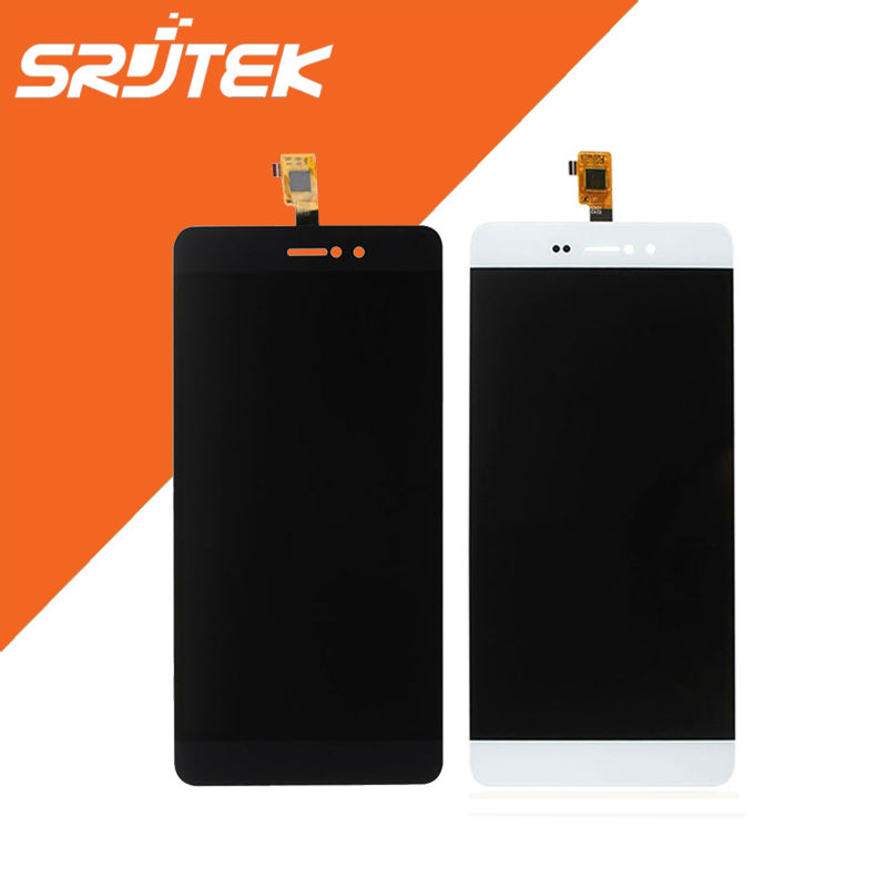 ФОТО BluBoo Picasso LCD Display Panel with Touch Screen Digitizer Sensor Full Assembly Black/White Smartphone Parts