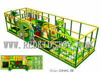 Labrinth d'intérieur pour enfants Standard de l'ue avec Trampoline et piscine à balles HZ 8416