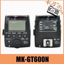цена на Meike MK-GT600N MK GT600 2.4G Wireless 1/8000s HSS TTL Flash trigger for Nikon D7100 D7000 D5100 D5000 D5200 D90 D70
