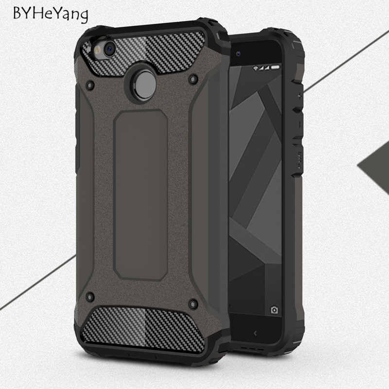 Byheyang Phone Case For Xiaomi Redmi 4x Case Hard Rugged