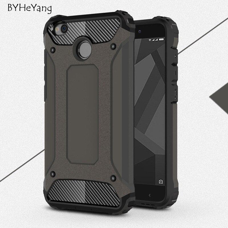 Teléfono case para xiaomi redmi 4x case con soporte duro resistente impacto para