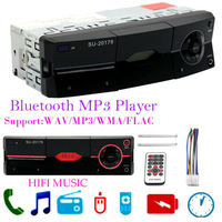 1 Din Car Radio AUX Audio AM FM SD Bluetooth Stereo MP3 Player Head Unit