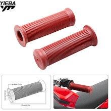 Universal 22MM Vintage rubber Motorcycle handle grips handlebar for HONDA CRF250R CRF450R CRF250X CRF450X CRF230F SL230