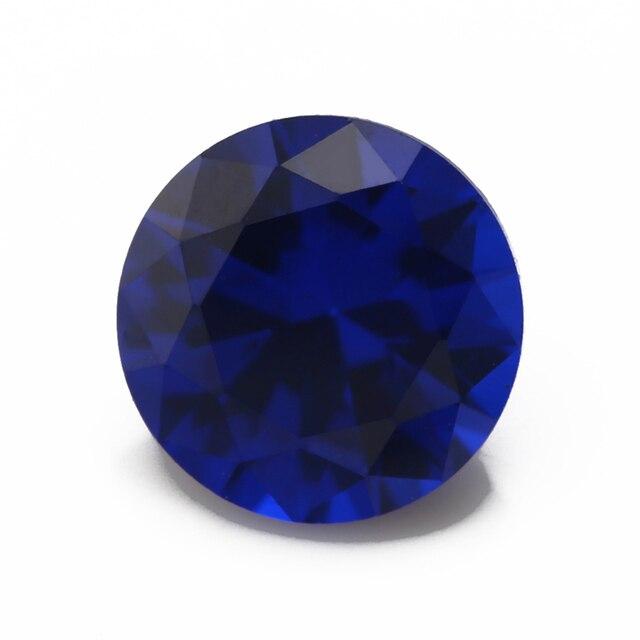 Фото синтетические шпинельные камни круглой формы с блестящей огранкой цена