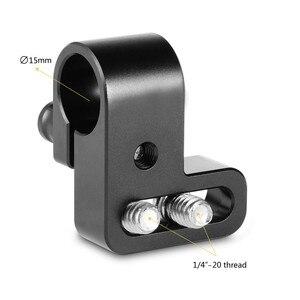 Image 4 - Smallrig 15 Mm Rod Clamp Voor Camcorder Video Diy Camera 15 Mm Rail Klem Schouder Ondersteuning Montage Accessoires 1493