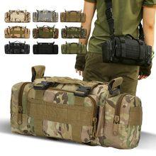 800D Оксфорд ткань наружные сумки Военный Тактический Рюкзак Мужчины Женщины софтбэк Спорт Кемпинг походные сумки охота на Камо рюкзак