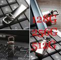 CALIENTE Nuevo 100% Real USB Flash Drives 128 GB Pen Drive 256 GB Pluma unidad de Memoria Flash USB Stick de 512 GB 1 TB 2 TB de Almacenamiento en Disco U USB 2.0