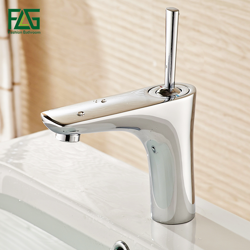 FLG water mixer bathroom basin sink faucet brass bathroom mixer taps modern chrome bathroom faucet basin mixer tap 677-11C nieneng big discount basin washroom mixer bathroom faucet tap mixers wc sanitary ware water toilet taps polished chrome icd60157