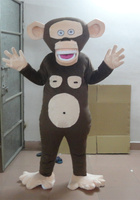 2017 hot sale Monkey mascot costume free shipping carnival costume adult costume kids party Holiday special clothing