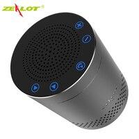 ZEALOT S15 Bluetooth Di Động Không Dây Loa Điều Khiển Cảm Ứng Hợp Kim Nhôm HiFi Stereo Âm Thanh Vòm 3D Ngoài Trời Subwoofer