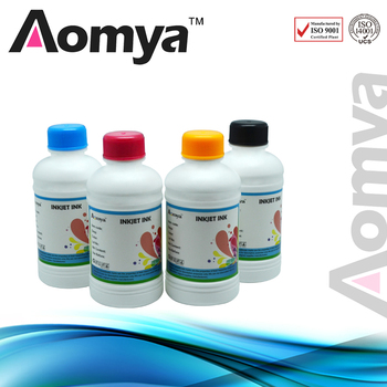 Aomya 4 Colors 250ml/bottle Sublimation Ink Compatible for Epson Inkjet Printer Black Cyan Magenta Yellow