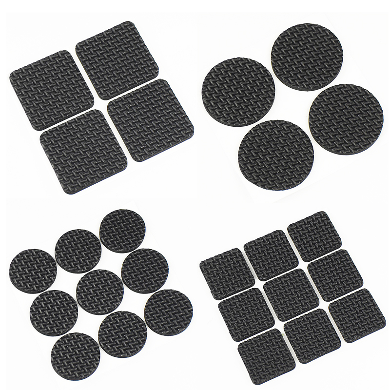 Admirable Us 1 2 20 Off 9Pcs 4Pcs Tables And Chairs Mats And Ottomans Black Corner Of The Desk Chair Cushion Anti Abrasion Floor Mat Door Mat Felt Pad In Download Free Architecture Designs Itiscsunscenecom