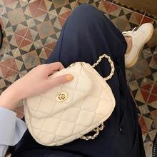 2019 Diamond Lattice Designer Small Women Bag Leather Handbag Luxury Crossbody Messenger Bags over Shoulder Sac a Main Lady Tote