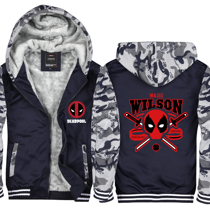 Men's Sportswear Hoodies  New Fashion Streetwear Hip Hop Thick Raglan Sweatshirts Men Punisher Skull Print Hoody CM412