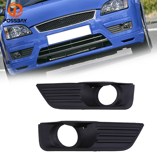 Possbay Fit For Ford Focus Mk2 2005 2008 Fog Light Lamp Covers Case Car Styling