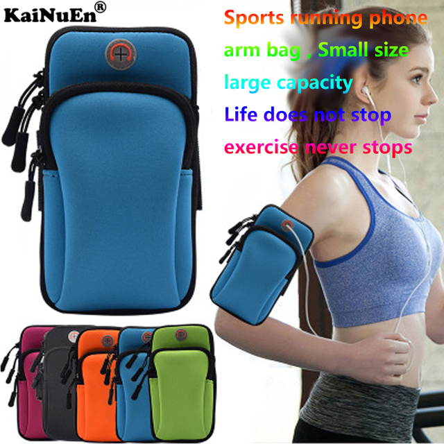 Kainuen 4 0 To 6 2 Inch Pouch Bag Phone Gym Arm Sports Running Wrist Camping Outdoor