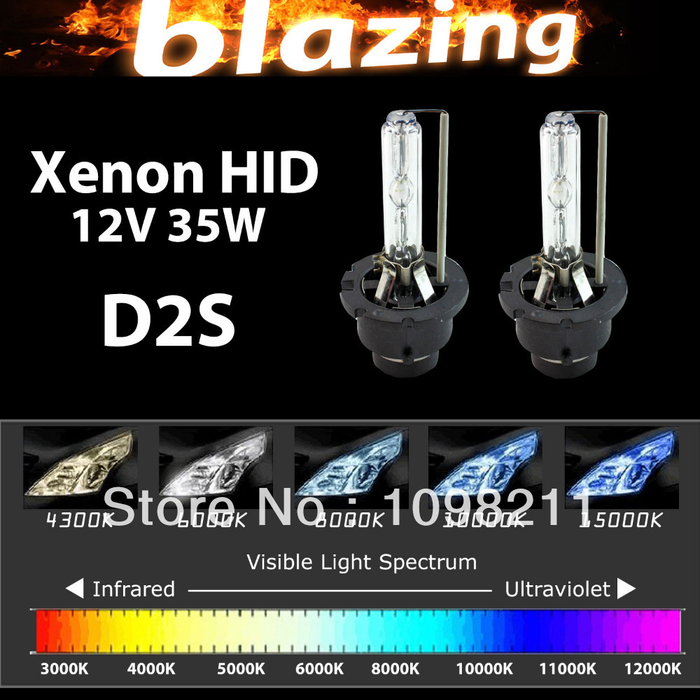 35W 12V HID XENON Replacement Bulb Car Light D2S D2C 3000K 43000K 5000K 6000K 8000K 10000K 12000K 15000K 30000K h1 3000k 4300k 5000k 6000k 8000k 10000k 12000k 30000k hid xenon lamp bulb12v35w factory sale lowest price