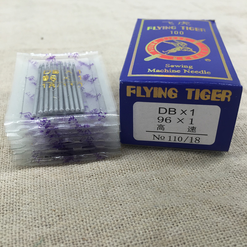 DB*1,110/18,100Pcs/Lot Sewing Needles For Simple/Computerized Lockstitch Sewing Machines,Flying Tiger Brand,Best Price,Wholesale