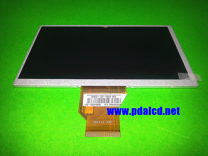 Original New 7.0 for INNOLUX AT070TN92 V.X LCD Screen 800*480 for Tablet PC TFT LCD display Screen panel Free Shipping original new 7 inch tft lcd screen 5mm 800 rgb 480 for innolux at070tn90 v 1 tft lcd display screen panel free shipping