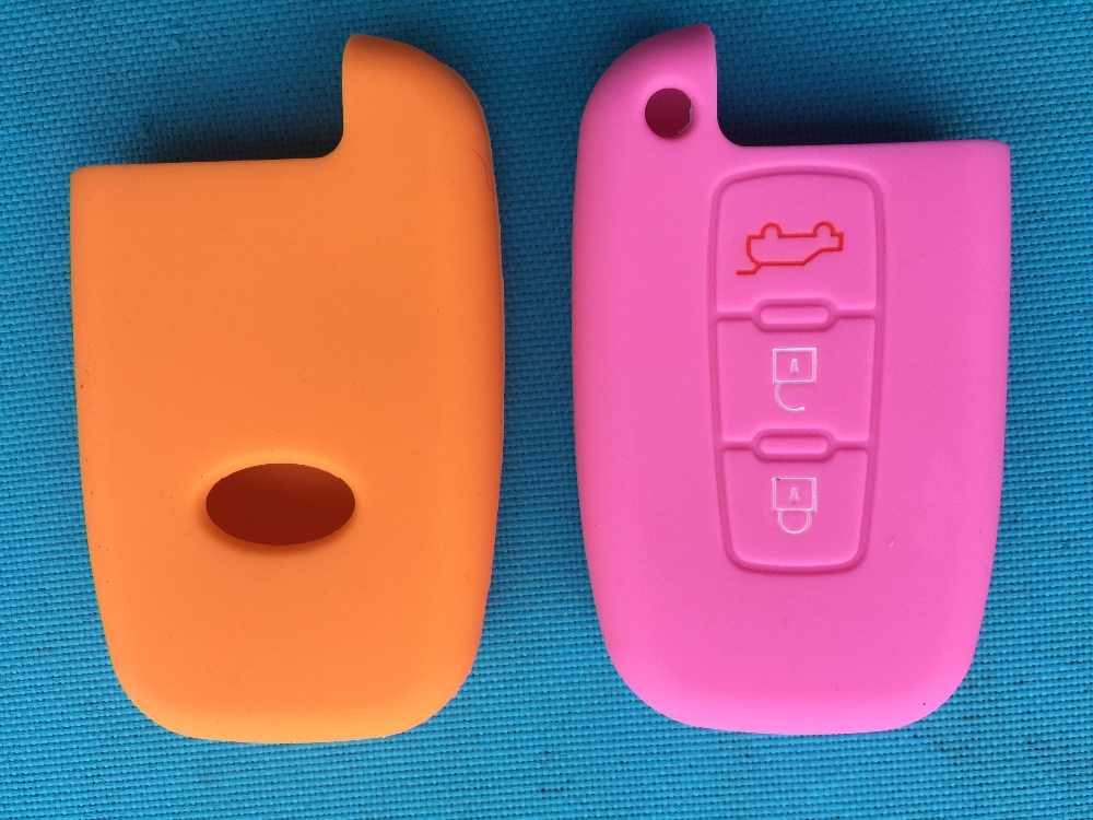 1 قطعة غطاء سيليكون مفتاح ذكي حالة ل هيونداي ايكوس Genesis Veloster لكيا سبورتاج فورت أوبتيما الروح أزيرا سورينتو 3 زر