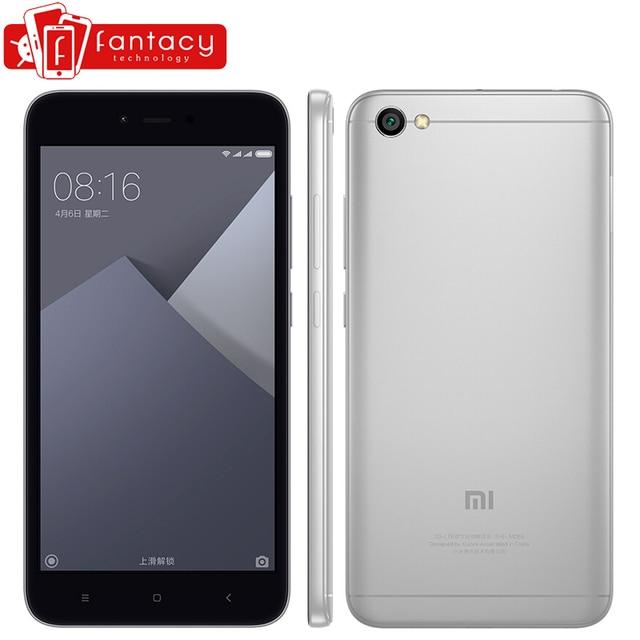 "Xiaomi Redmi Note 5A 2G RAM 16G ROM Smartphone Snapdragon 425 Quad Core FDD LTE 4G 5.5"" HD 13MP 1280x720p MIUI 8 Gorilla Glass"