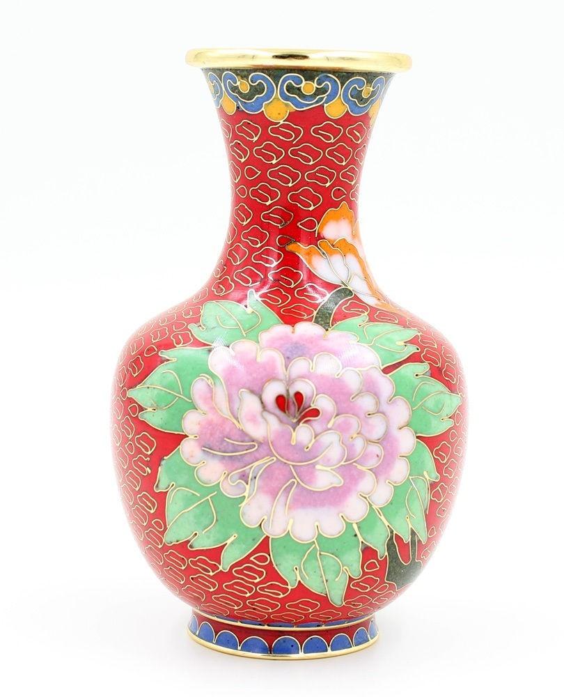 TNUKK  NEW 6 Chinese Handmade flowers Cloisonne Copper Decoration Vase Ornament Home Decor Craft..TNUKK  NEW 6 Chinese Handmade flowers Cloisonne Copper Decoration Vase Ornament Home Decor Craft..