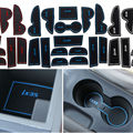 15Pcs Anti Non Slip With Words In Car stickers Interior Door Groove Cup Gate Slot Mat Pad For Hyundai IX35 09-15 LHD Car-Styling