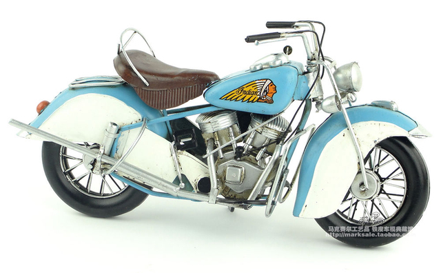 Indian motorcycle model ornaments, Christmas gifts on Aliexpress.com ...