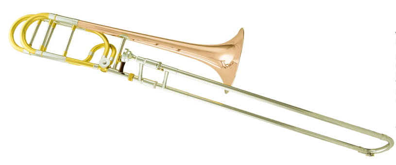 Bb/F Tenor Trombone Brass Body lacquer surface with Foamcase and mouthpiece Band Musical instruments high quality musical instruments many colors gold lacquer trumpet bb b flat brass exquisite with mouthpiece gloves