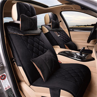 3D Styling Car Seat Cover Universal Cushion For Land Rover Discovery 3/4 freelander 2 Sport Range Sport Evoque Car Styling