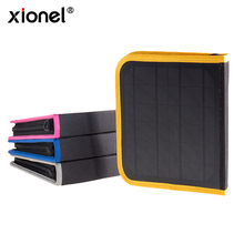 Xionel Solar Charger Bag Outdoor Solar Panel USB Charger Backpack for Android Moible Phone Camping Travel Knapsack