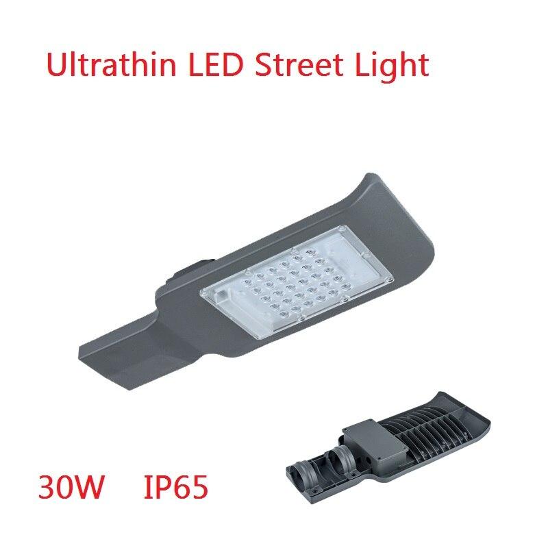 (1PCS/Lot) Warranty 3 Years Industrial Garden Lighgting 20W 30W 50W AC85-265V LED Street Light Road Yard Solar Lamp