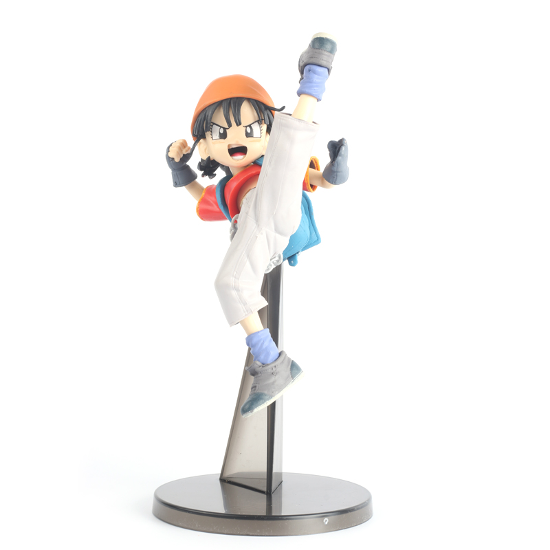 ФОТО Figuras Dragon Ball Pan Goku Anime Figure Action Figure PVC 19cm SYP-0033
