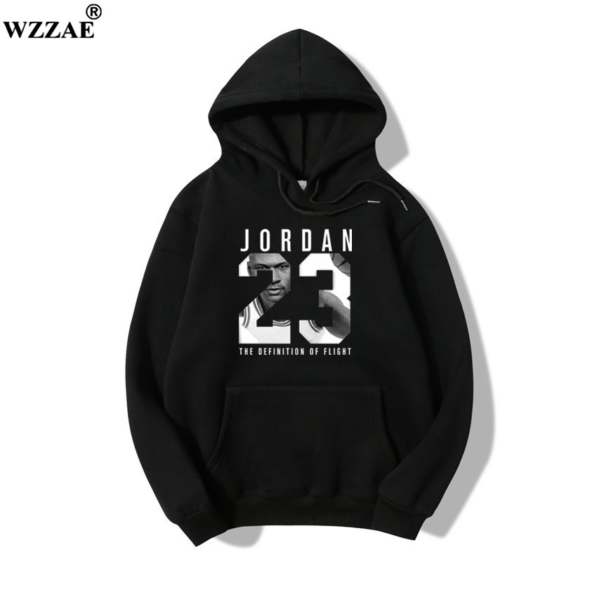 100% Cotton 2018 Brand New JORDAN 23 Men Sportswear Fashion Brand Print Men Hoodies Pullover Hip Hop Mens tracksuit Sweatshirts