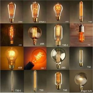 vintage Edison Light Bulbs Tun