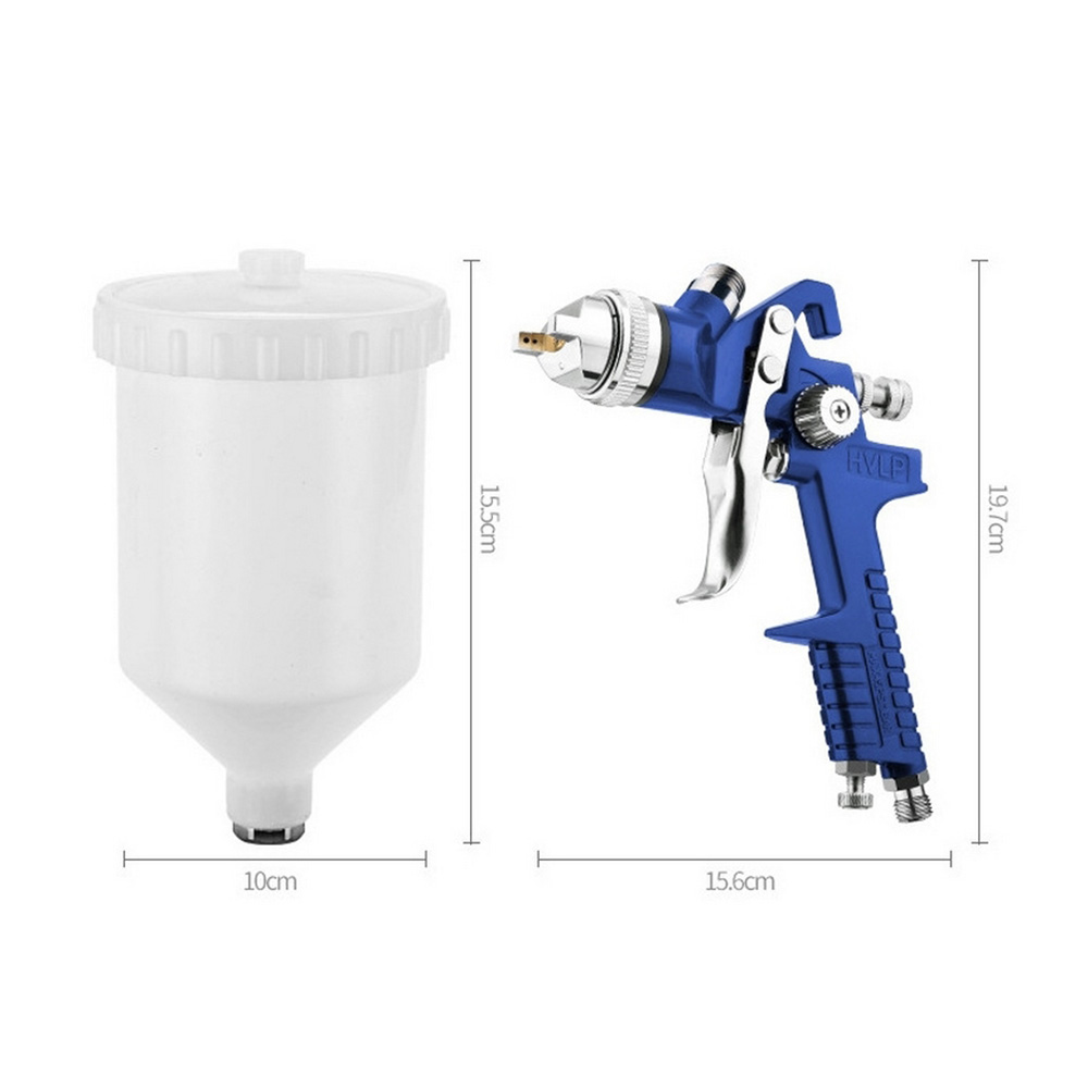 Image 5 - 1.4mm 1.7mm 2.0mm Airbrush HVLP Spray Gun Steel Nozzle H 827 Cars Painting Furnitures DIY Painting Kit Car Auto Repair Tool-in Spray Guns from Tools on