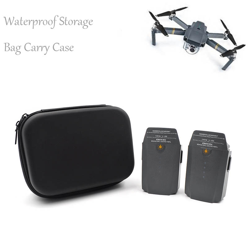 For DJI Mavic 2 Drone Box Case Storage Bag Hard Shell Waterproof Black EVA