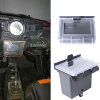 Black Dash Box Center Compartment for Polaris RZR 900&S 2015 RZR XP 1000 2014 RZR XP 4 1000/PS