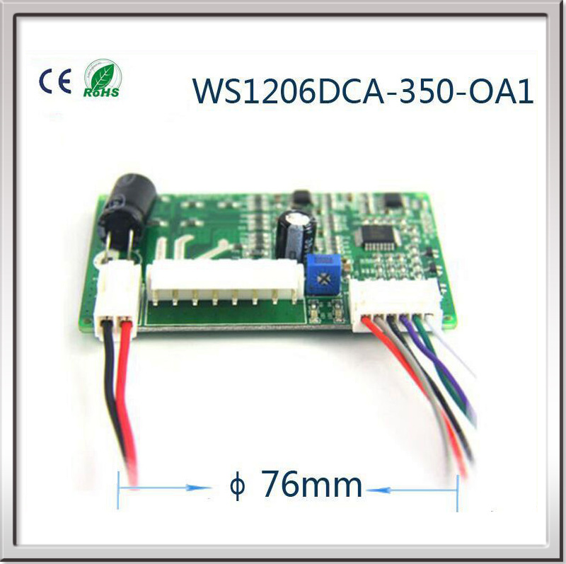 Brushless DC Fan motor Driver board 12V Brushless dc motor controller DC motor speed regulator stepper motor driver controller brushless motor driver 24v 200w bldc motor driver controller for 180w dc dc fan or motor 7 15a