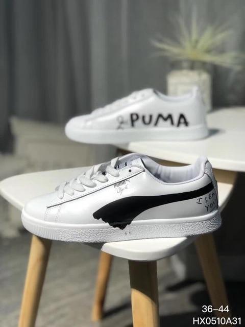 c36d5f6fb82 2018 New Arrival Puma shoes Puma cowhide Men and women Sneakers Shoes  Badminton Shoes Size 36-44