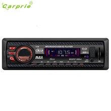Прямая поставка Лидер продаж Аудиомагнитолы автомобильные стерео в тире FM с Mp3 плеер USB SD Вход AUX приемника 1238 подарок авг 16