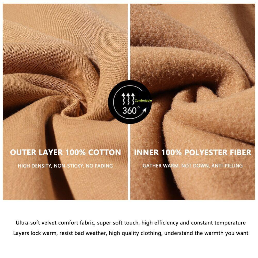 Fashion Hoodies Male Warm Fleece Coat Hooded Men Brand Hoodies Sweatshirts 5